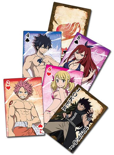 Fairy Tail Playing Cards - Set 2