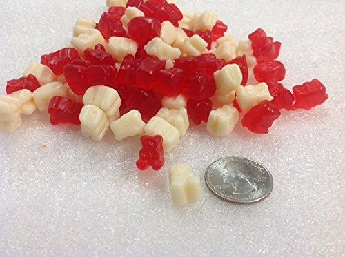 Gummi Polar Bear Cubs Peppermint gummi bears mini gummy bears 2 pounds (Peppermint Bear)