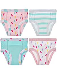 Baby and Toddler Cotton Training Pants (Pack Of 4)