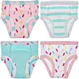 Trimfit Baby and Toddler Cotton Training Pants (Pack of 4), Sprinkles, 24M: more info