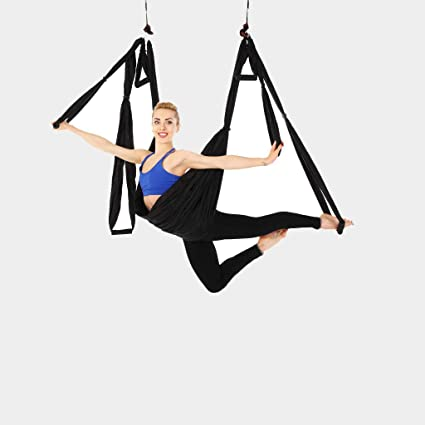 Amazon.com: Zywtrade Antigravity Yoga Hammock Indoor Reverse ...