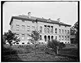 Vintography 8 x 10 Reprinted Old Photo Butterfield Museum Dartmouth College 1900 Detriot Publishing co. 10a
