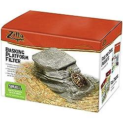 Zilla Reptile Habitat Décor Basking Platform Filter, Small, 10-20G