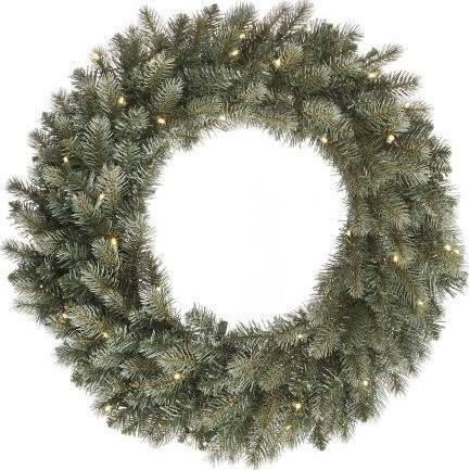 Vickerman 456200 - 60'' Colorado Spruce 400 Warm White LED Lights Christmas Wreath (A164361LED) by Vickerman