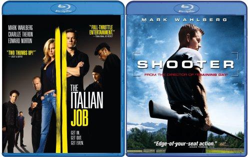 Italian Job & Shooter [Blu-ray]