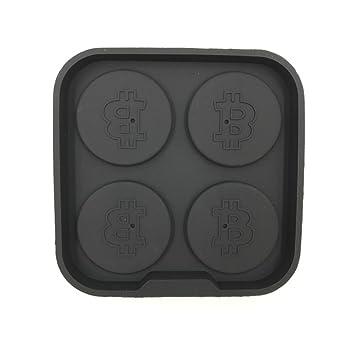 Bitcoin - Barra de hielo para congelar - 4 cubitos de hielo para ...