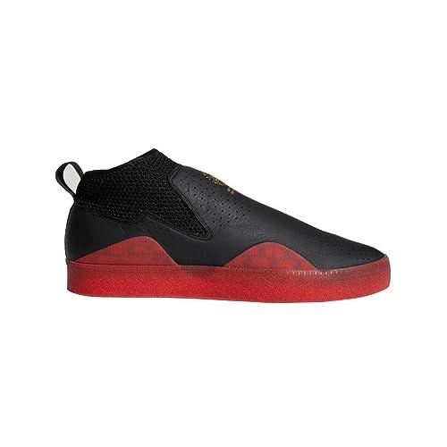 e4f78b7ef896f adidas 3ST.002 Nakel Smith Skate Shoe -Black/Red (8.5): Amazon.ca ...