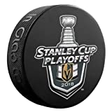 The Hockey Company 2018 Stanley Cup Playoffs Golden Knights Puck 1ST & 2ND Rounds Round 1 & 2 LAS Vegas