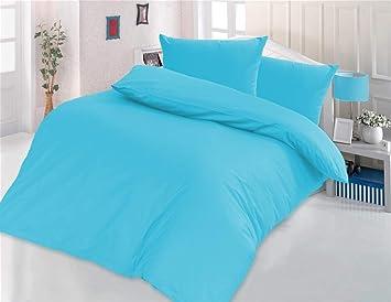 Style Heim 2 Tlg Bettwäsche Renforcé Baumwolle Einfarbig Uni