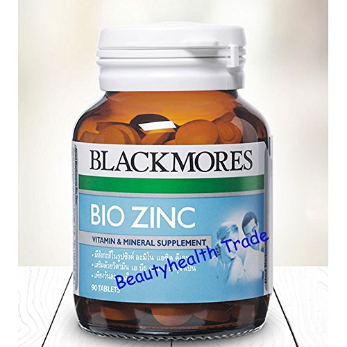 Blackmores Vitamins Bio Zinc 90 Tab.(Beautyhealth Trade) by Blackmores