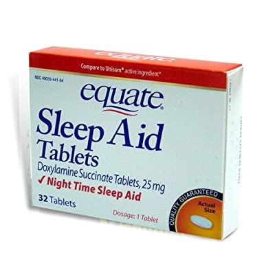 Equate: Night Time Sleep Aid Tablets, 32 ct