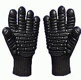 X-Sunshine Black Lightweight Anti-Vibration Gloves Rubber Foam Latex gloves Work Protective Glove