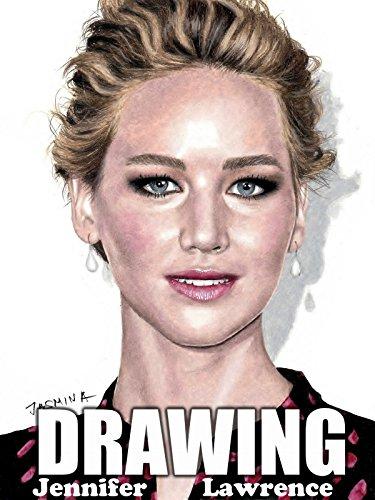 Drawing Jennifer Lawrence by