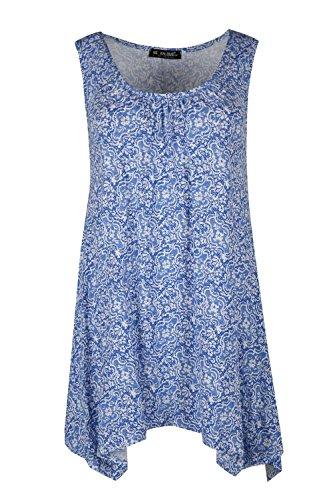 oriental flower print dress - 4