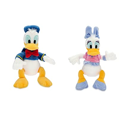 Disney Donald and Daisy Duck Plush Set: Toys & Games