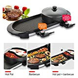 SEAAN Electric Hot Pot Indoor Korean BBQ Grill