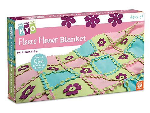 MindWare Make Your Own Fleece Flower Craft (Fleece Flower Blanket)