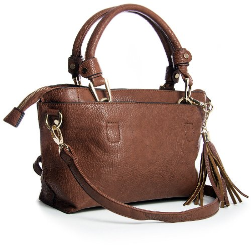 Big Handbag Shop Pockets Satchel