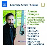 Armen doneyan - 2015 Silver Medal Guitar Foundation of America Competition