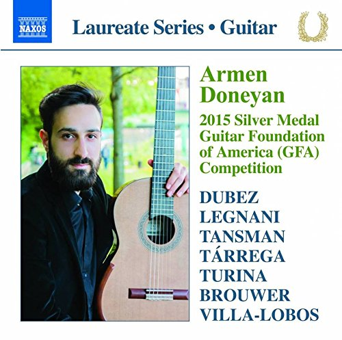 Armen doneyan - 2015 Silver Medal Guitar Foundation of America - America Medal