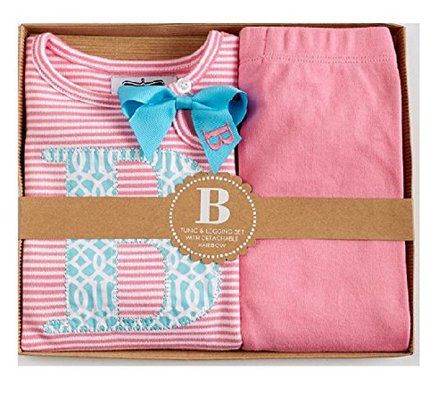 mud pie baby girl initial - 1