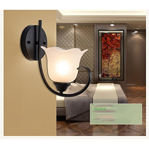 Wall Lamp Milk White Glass Shade Industrial Wall Light Vintage Wall Lights 220v Mount Wall Lights Indoor Apartment, Hotel, Warehouse, Staircase, Corridor, Kitchen, Bedroom Wall Lamp Decoration