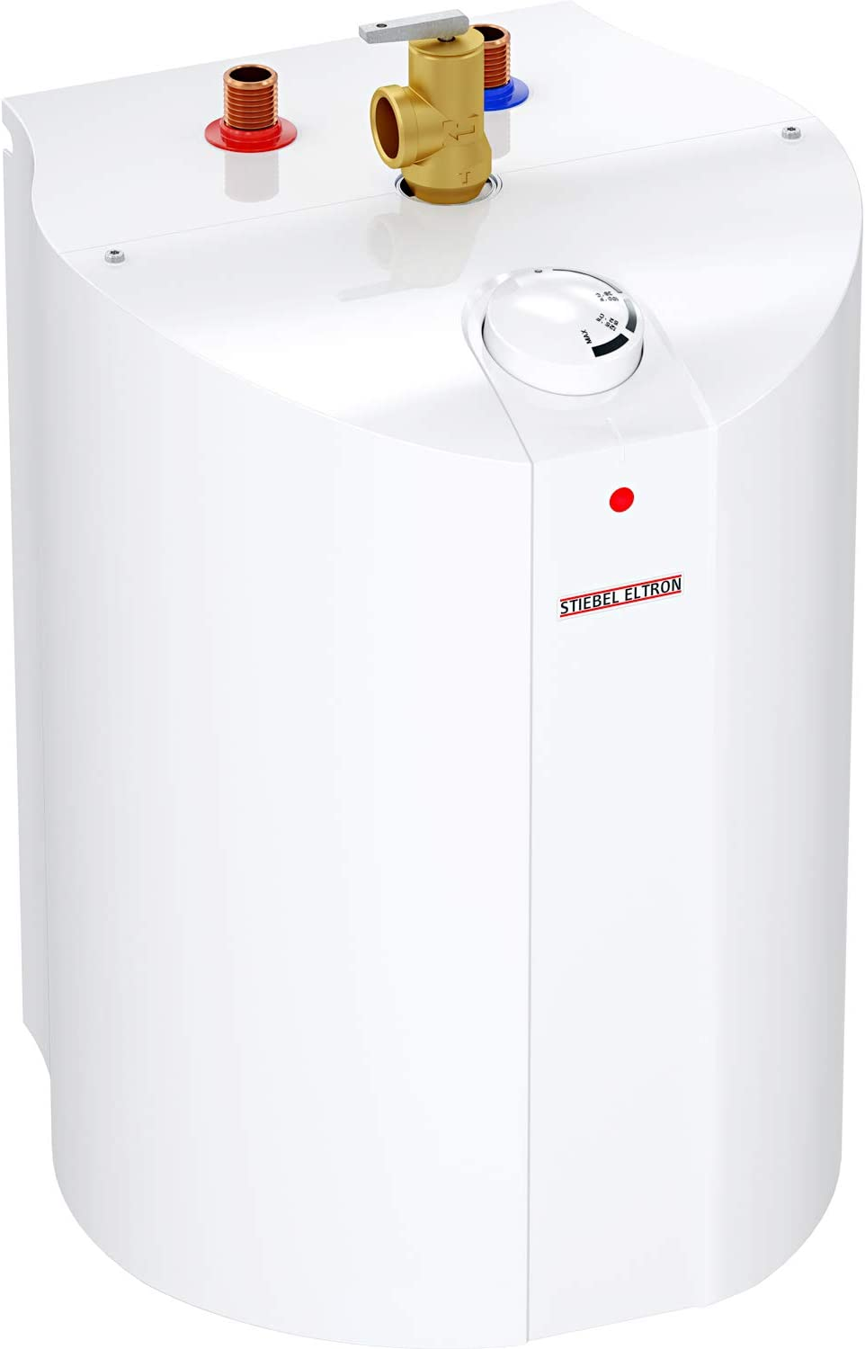 "Stiebel Eltron 234046 SHC 4 Mini-Tank Electric Water Heater, 4 Gallon, 1300W, 120V, 12-5/8"" W x 19-3/4 12-1/2"" D"