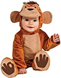 Rubie's Cuddly Jungle Funky Monkey Romper Costume, Tan, 12-18 Months