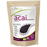 Organic Acai Berry Powder (125 Grams / .275 lbs) | MySuperFoods | Certified Organic | High in Antioxidants | Rich in Fibre, Protein, Iron and Nutrients | Harvested by Hand | Perfect for Desserts Review