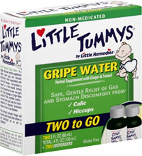 Little Tummys Gripe Water - [Two to Go] 4 oz (Pack of 12)