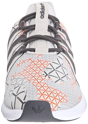 Adidas Originals Sl Loop Racer de encaje hasta zapatos, negro / gris / gris, 7 M US Talc Off White/Grey/Orange