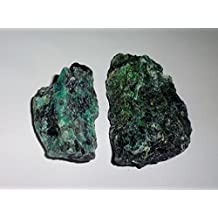2pc #6A Raw Chrysocolla Natural Rough free form Crystal Healing Gemstone Cluster Specimen Stones