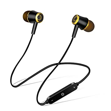 Sencillo Vida Auriculares Deportivos Bluetooth 4.1 In Ear Sonido Estéreo Ergonómico (Cancelación de Ruido)