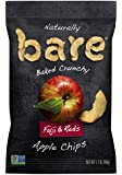 Bare Natural Apple Chips, Fuji & Reds, Gluten Free + Baked, 1.7 Ounce (Pack of 10)