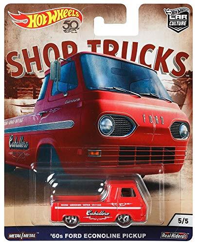 Hot Truck Wheels Mini (Hot Wheels 60's Ford Econoline Pick up Toy Vehicle)
