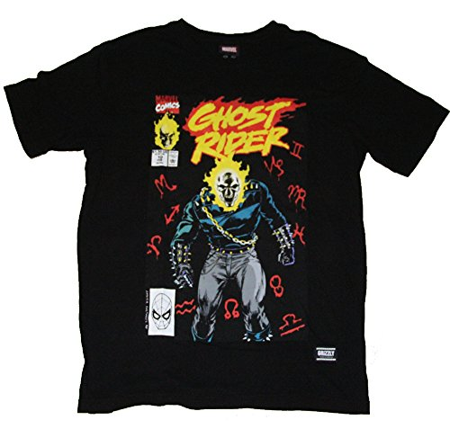 1b1c4e41f2f MarvelTshirts Marvel X Grizzly Ghost Rider Short Sleeve T-Shirt Mens Size  Large