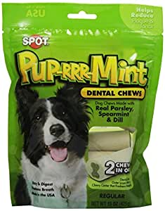 ETHICAL PRODUCTS 773193 Pup-Rrr-Mints Regular Bag for Dogs, 15-Ounce