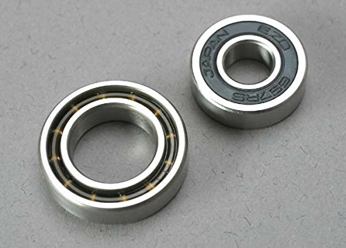 Traxxas 5223 Engine Bearings, 7x17x5mm, 12x21x5mm (TRX 2.5, 2.5R, (21 Engine Bearings)
