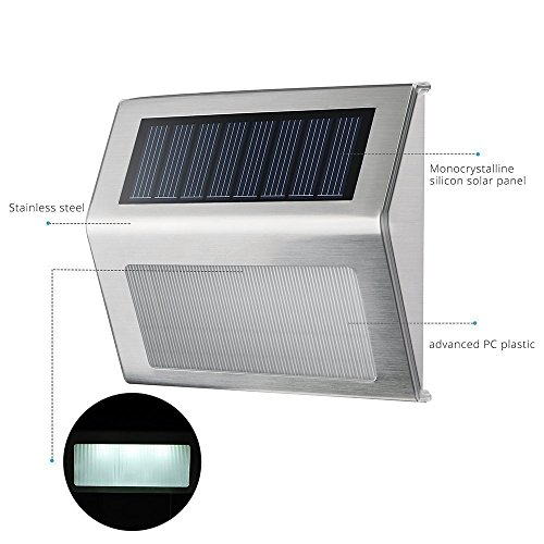 Easternstar-Solar-LightOutdoor-Waterproof-Stainless-Steel-Solar-LED-  sc 1 st  L&s & Easternstar Solar LightOutdoor Waterproof Stainless Steel Solar LED ...
