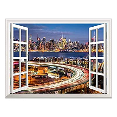 Removable Wall Sticker Wall Mural City Traffic Lights...