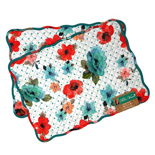 The Pioneer Woman Vintage Bloom Reversible Placemats Set of 2
