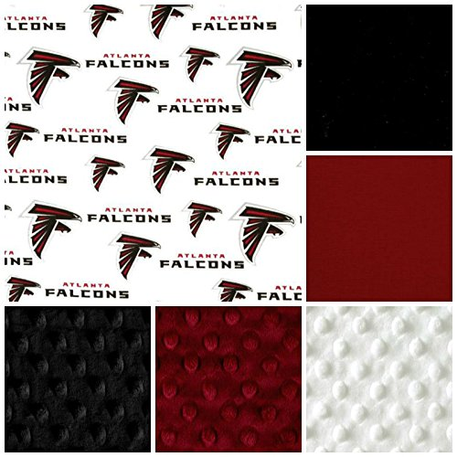 best website 8d1b4 aa949 Amazon.com : Atlanta Falcons Crib Bedding Set : Baby
