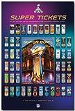 "Super Bowl XLVII - Tickets NFL 24""x36"" Art Print Poster"