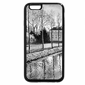 iPhone 6S Plus Case, iPhone 6 Plus Case (Black & White) - Park Sanssouci