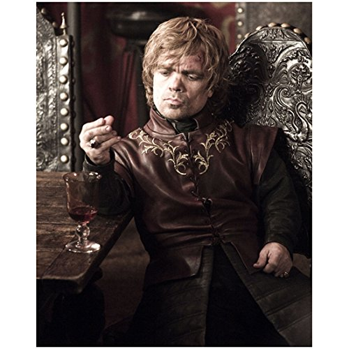 Tyrion Lannister Seated at Table with Glass of Wine - 8x10 Photograph / Photo - Game of Thrones 011GoT112014