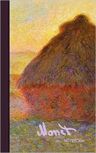 monet notebook haystacks and japanese bridge journal cuaderno portable gift signature series