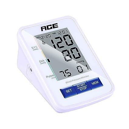 chunyang Digital Tensiómetro Tensiómetro digital muñeca Tensiómetro con gran pantalla led automática Tensiómetro Monitor precisa y