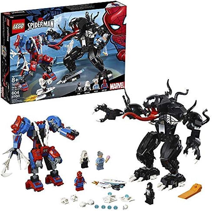LEGO Super Heroes Marvel Spider Mech Vs. Venom 76115