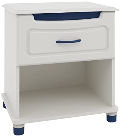 Ameriwood Youth Options Collection Night Stand with Pink/Blue Color Panels