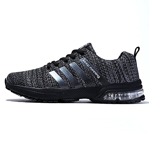 XIDISO Mens and Womens Sneakers Air Cushion Sports Running Shoes for Men Lightweight Breathable Athletic